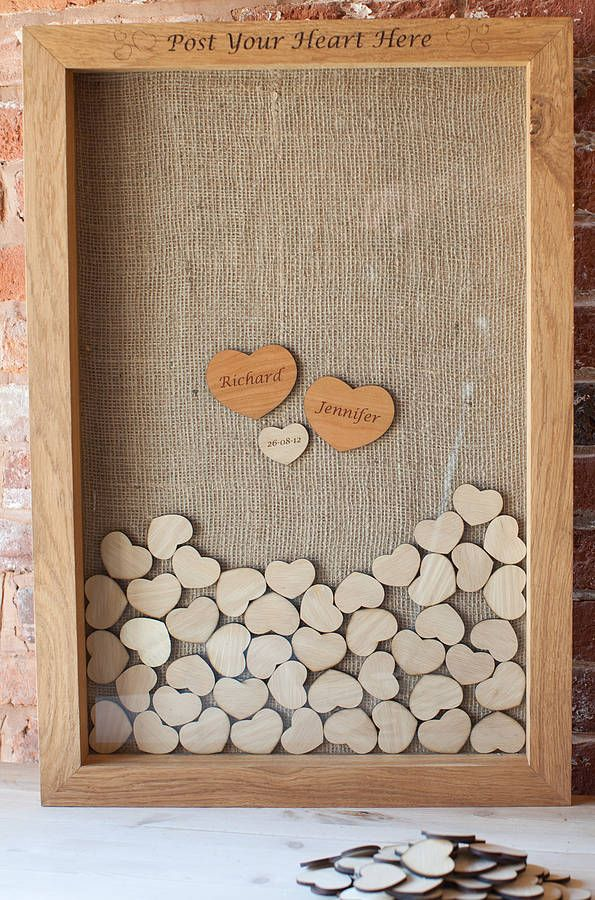 Beautiful Wedding Guest Book Picture Frame Ideas - Styles & Ideas ...